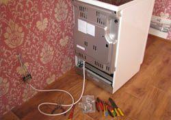 Подключение электроплиты. Уфимские электрики.